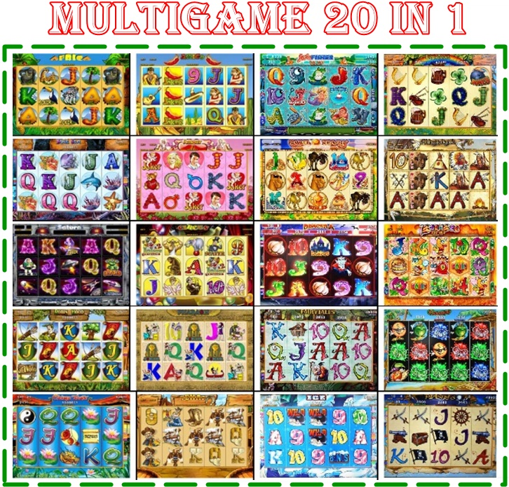 Multigame20in1